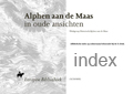 Index Alphen ad Maas in oude ansichten